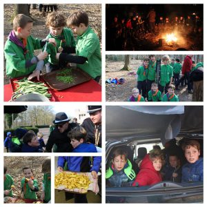 nestwedstrijden weekend welpen scouting Impeesa Amersfoort