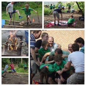 Welpen Impeesa: Vader-zoonkamp