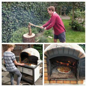 Rowans Impeesa: Pizza bakken