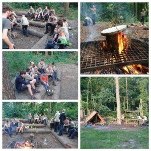 Verkenners Impeesa: zomerkamp voorbereiding