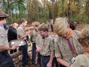Scouting Impeesa Amersfoort Verkenners installatie
