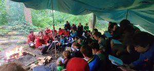 Scouting Impeesa Amersfoort eindkampvuur