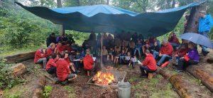 Scouting Impeesa Amersfoort kampvuur