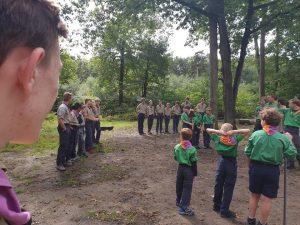 Scouting Impeesa Amerfoort - Overvliegen
