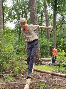 Scouting Impeesa Amersfoort - Overvliegen