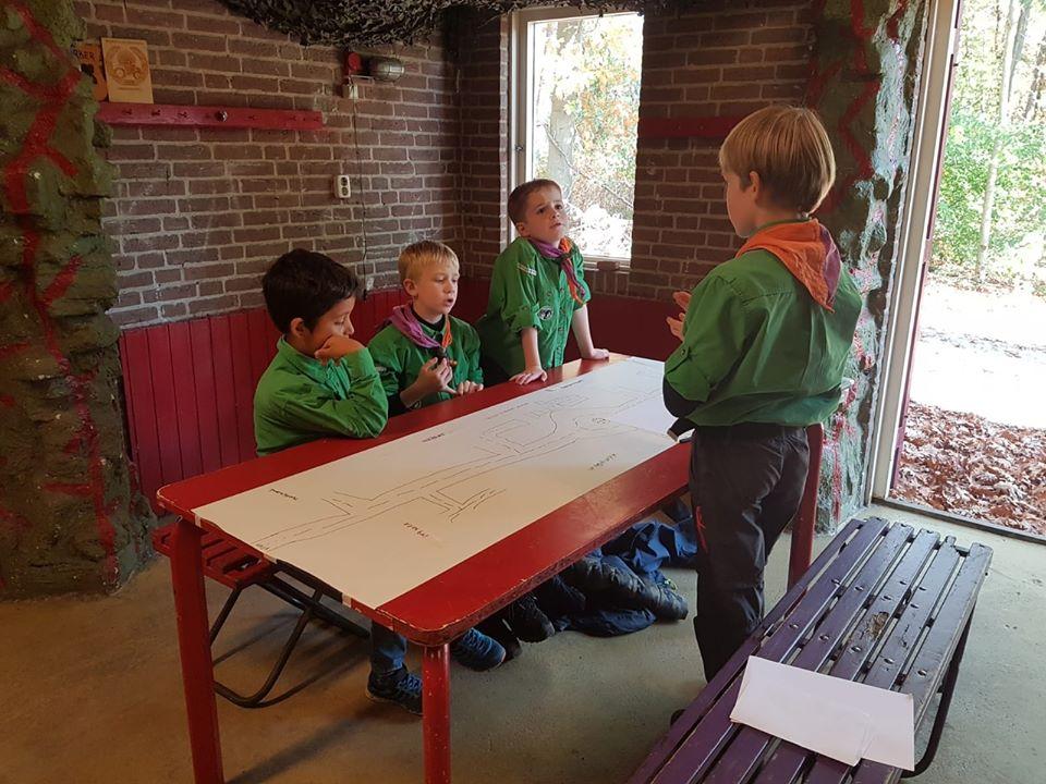 Welpen scouting Impeesa Amersfoort snoepstad