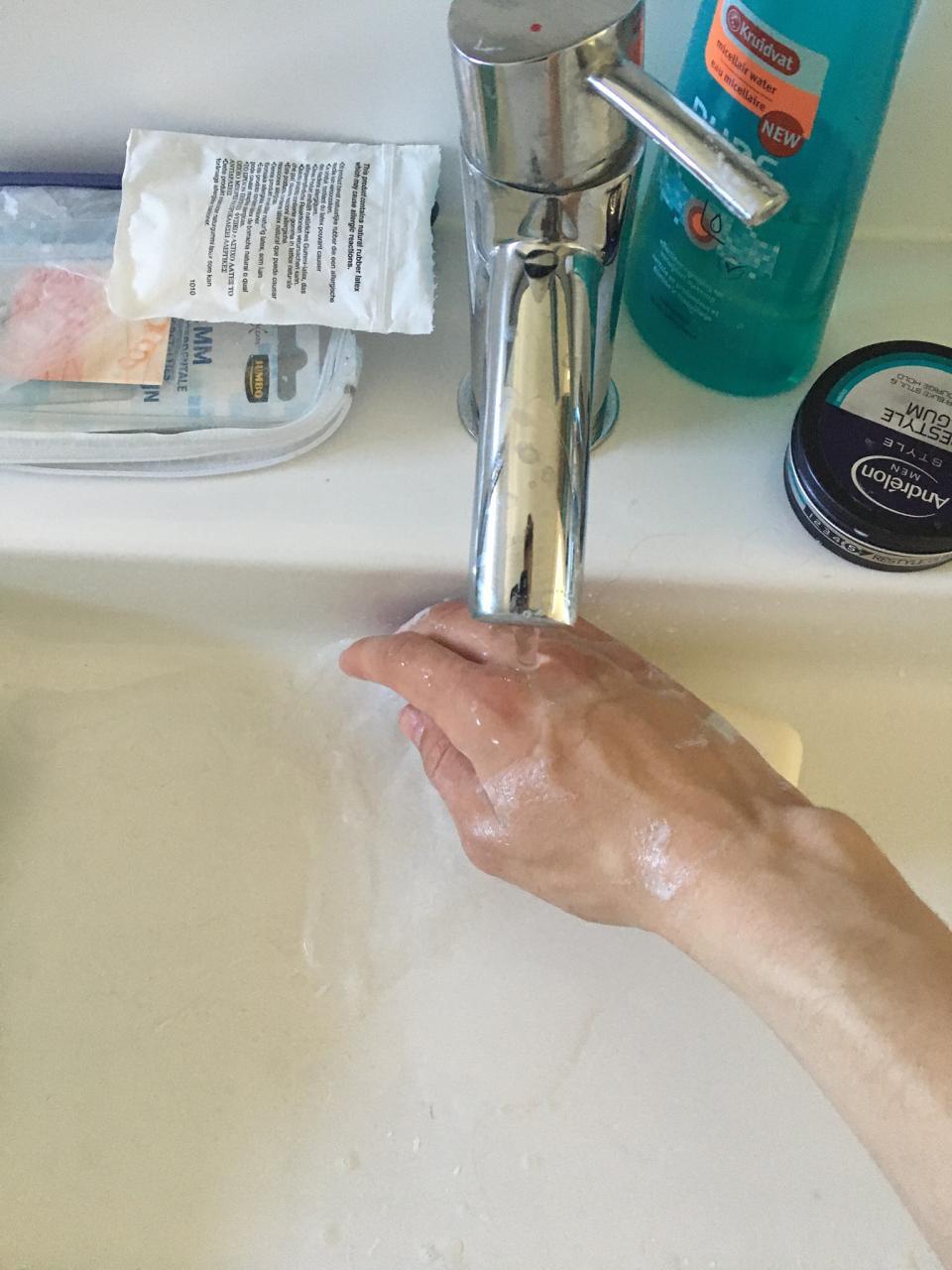 Scouting Impeesa Amersfoort - on-line opkomst handen wassen