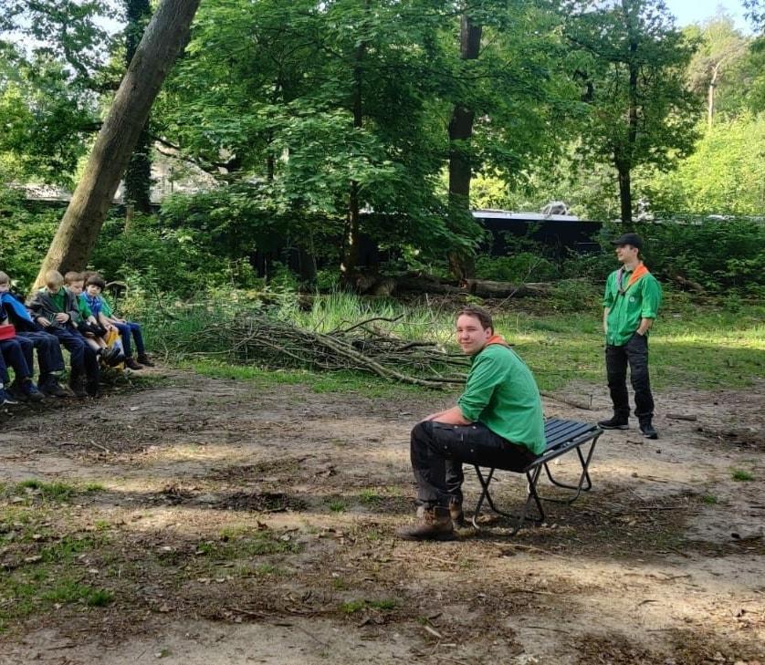 Scouting Impeesa Amersfoort - welpen op anderhalve meter