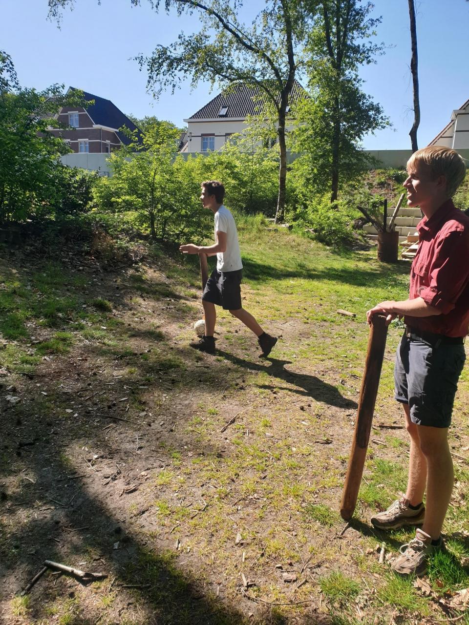 Scouting Impeesa Amerfoort - rowans op anderhalve meter