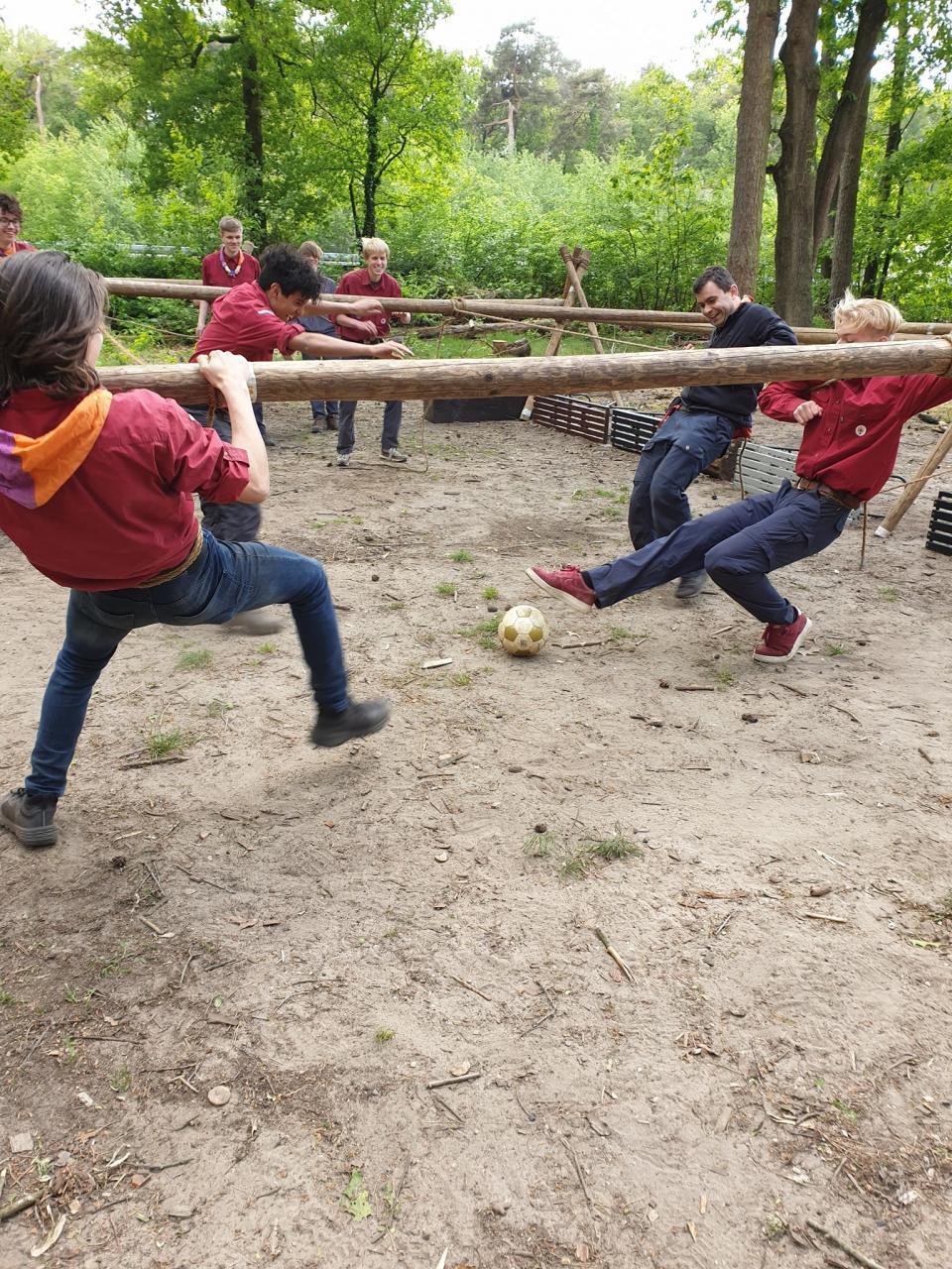 Scouting Impeesa Amersfoort - rowans levend tafelvoetbal