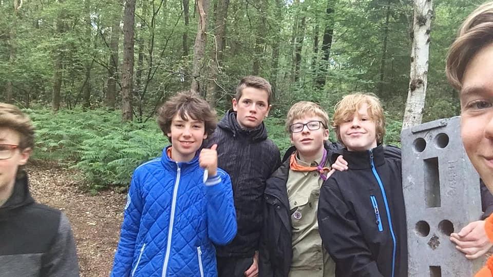 Scouting Impeesa Amersfoort verkenners scouts avondopkomst