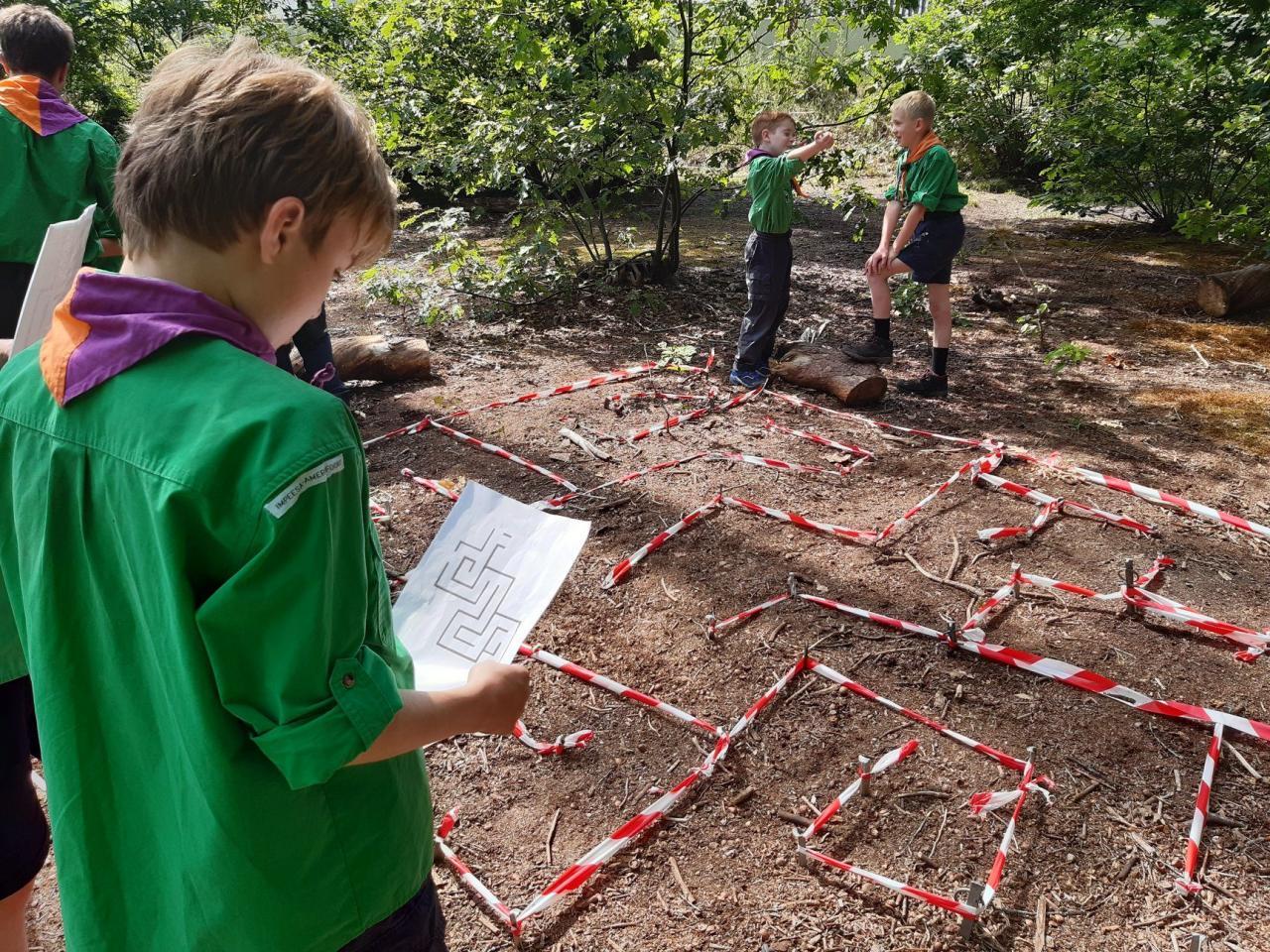 Scouting Impeesa Amersfoort welpen routetechnieken