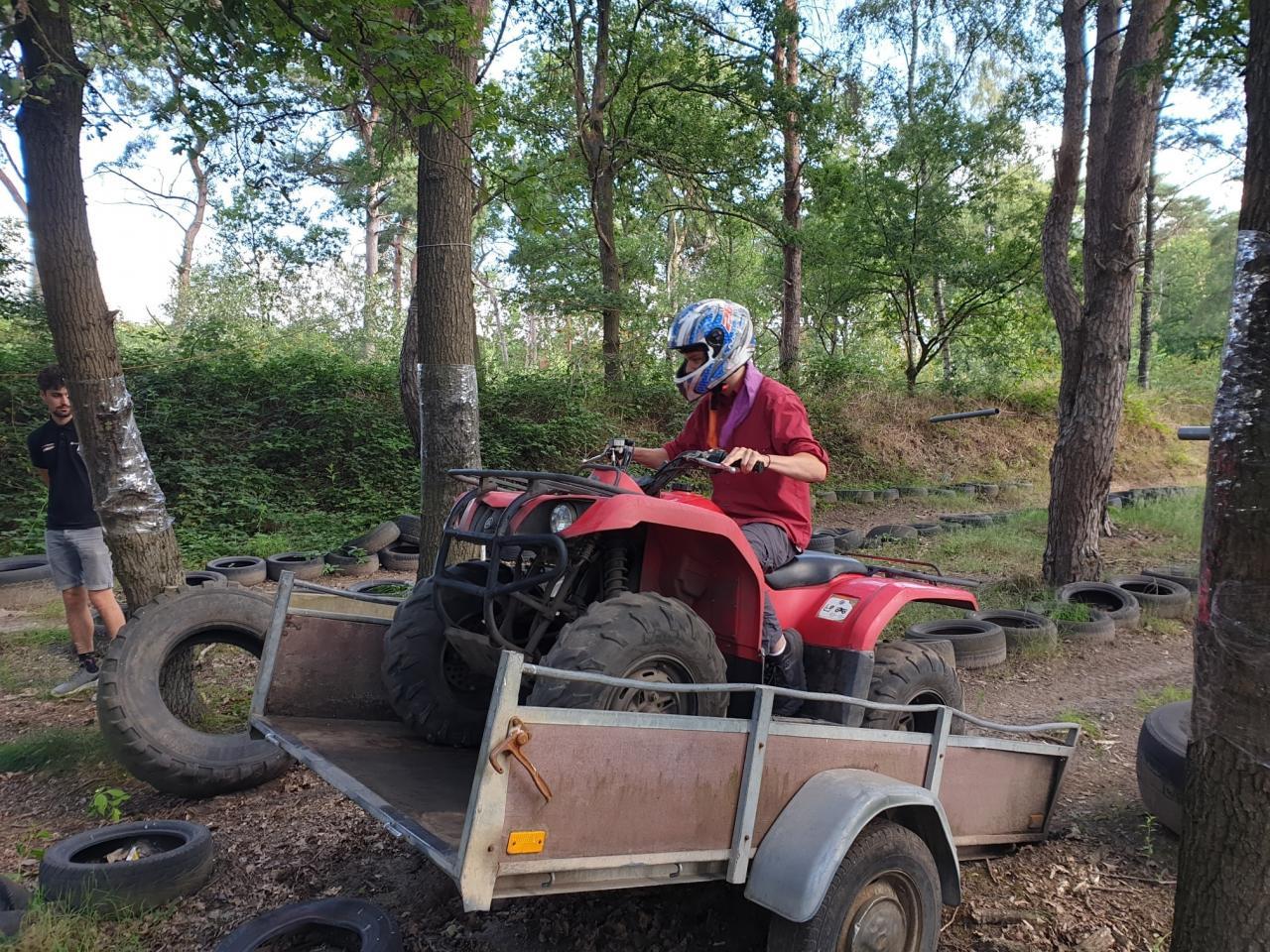 Scouting Impeesa Amersfoort quad rijdende rowans