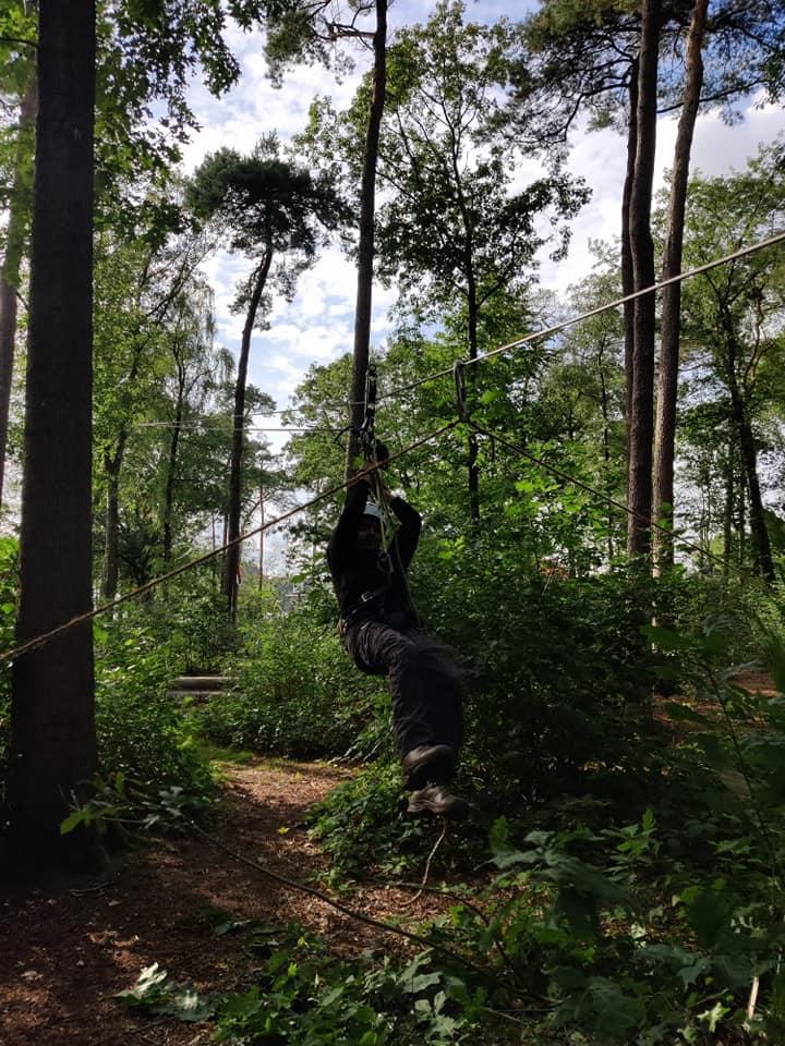 Scouting Impeesa Amersfoort overvliegen