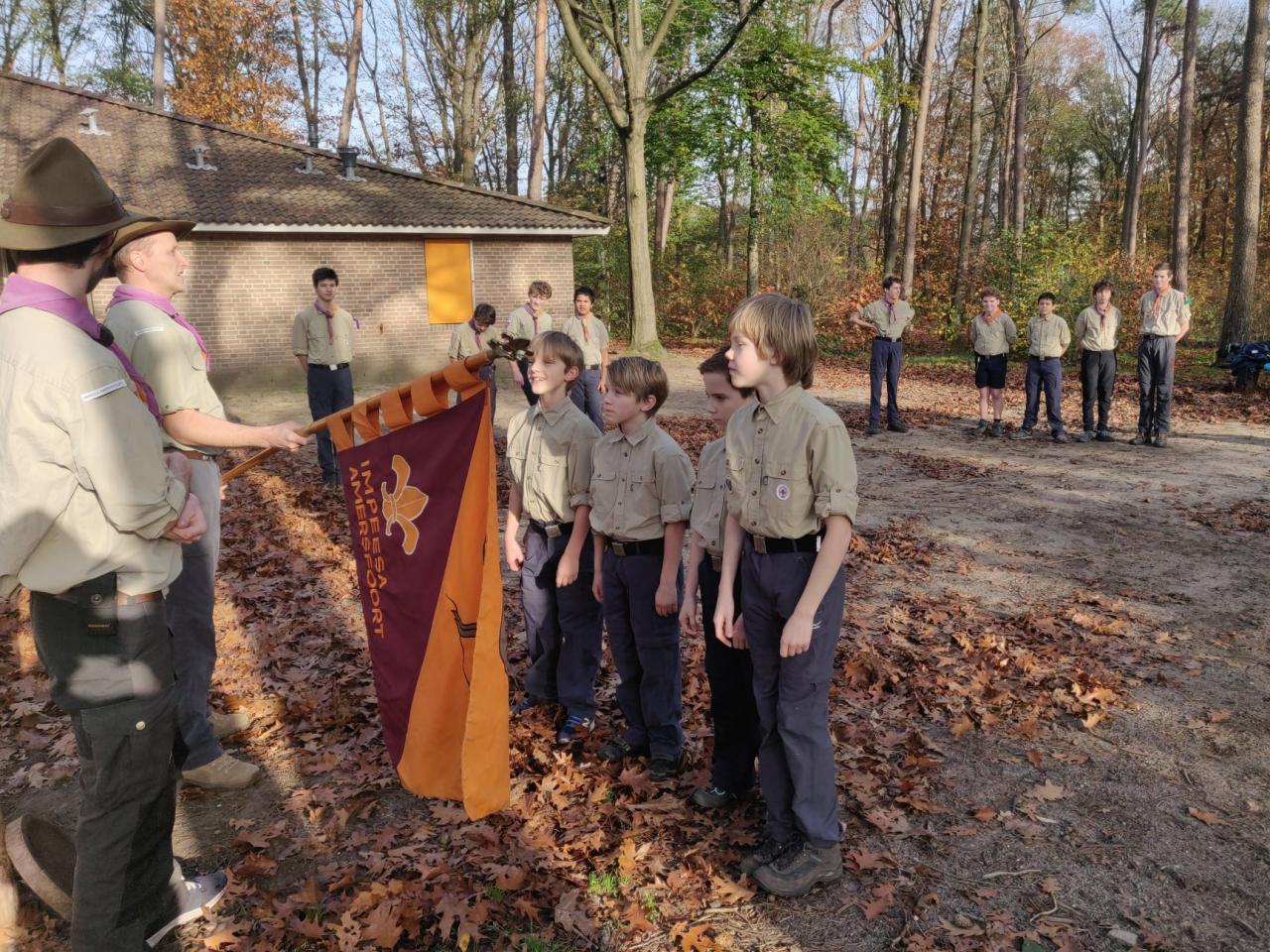 Scouting Impeesa Amersfoort installatie verkenners