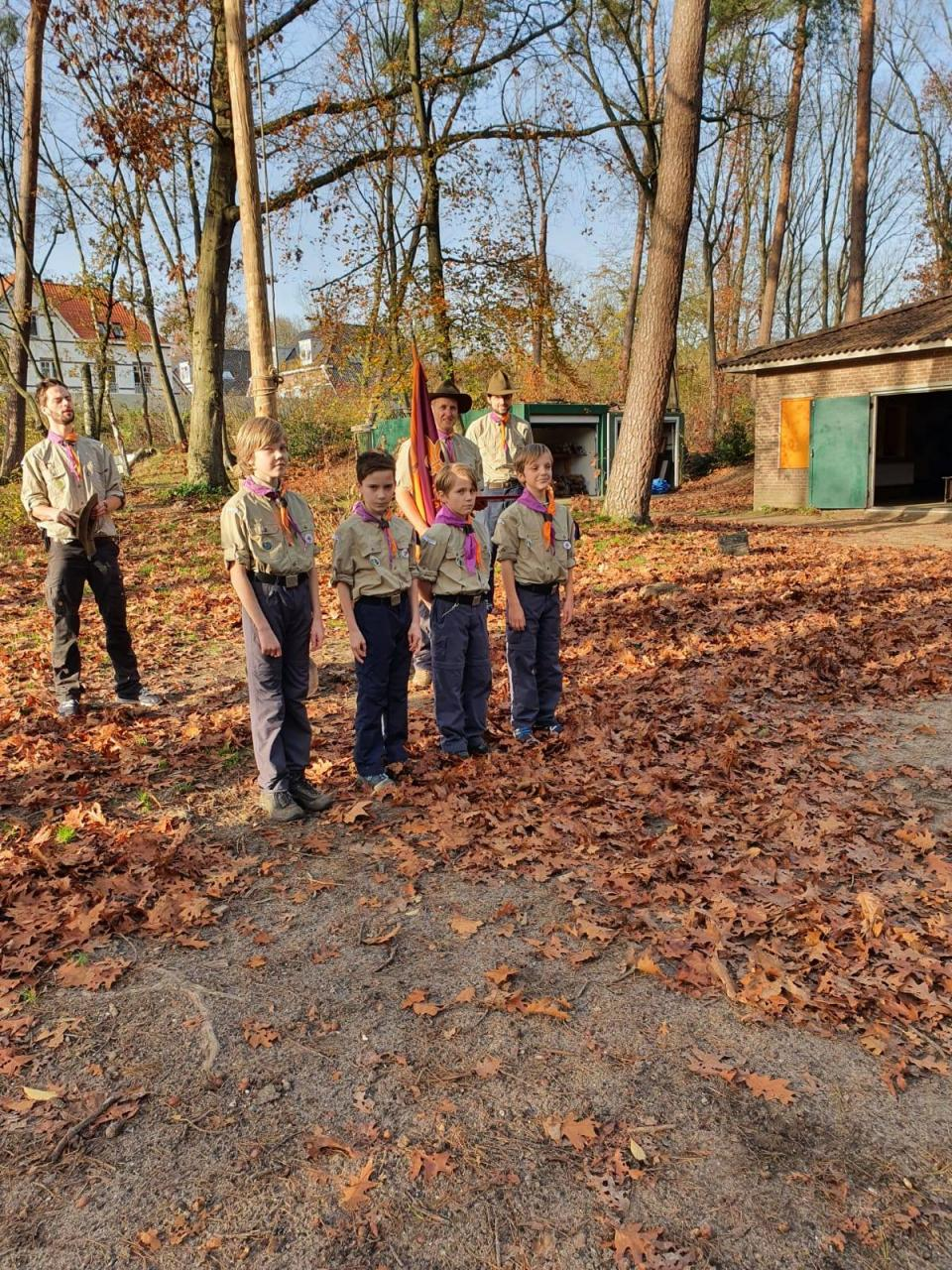 Scouting Impeesa Amersfoort scouting scouts installatie